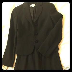 Quality LOFT black skirt suit
